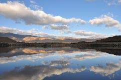 Reflexión de la nube Imagen de archivo