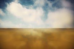 Reflexión de la playa Imagen de archivo