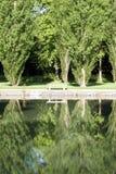 Reflexión de la soledad Foto de archivo libre de regalías