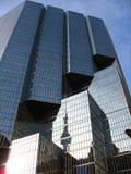 Reflexión de la torre del NC Imagen de archivo libre de regalías