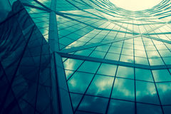 Reflexión de la ventana del edificio Fotografía de archivo libre de regalías