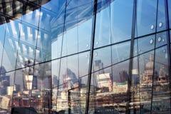 Reflexión de Londres Foto de archivo