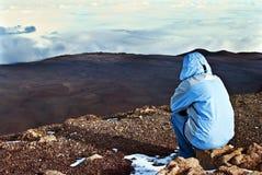 Reflexión de Mauna Kea Fotos de archivo libres de regalías