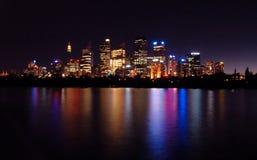 Reflexión de Sydney Fotografía de archivo