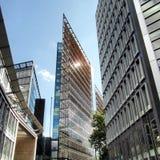 Reflexión de un edificio Fotografía de archivo libre de regalías