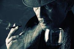 Reflexión de un señor de crimen Imagen de archivo libre de regalías