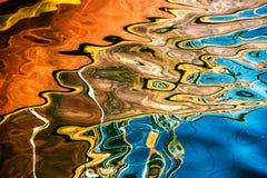 Reflexión del agua foto de archivo libre de regalías