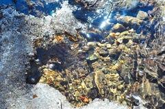 Reflexión del agua Fotos de archivo