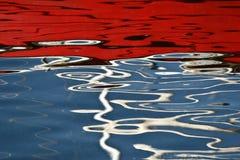 Reflexión del agua fotografía de archivo