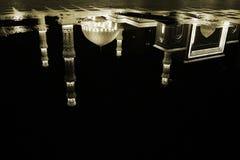Reflexión del agua de la mezquita Fotografía de archivo