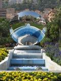 Reflexión del casino de Mónaco Imágenes de archivo libres de regalías