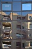 Reflexión del edificio Fotografía de archivo
