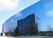 Reflexión del edificio Foto de archivo libre de regalías