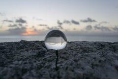 Reflexión del horizonte Imágenes de archivo libres de regalías