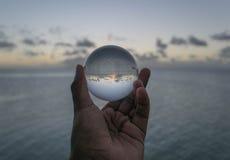 Reflexión del horizonte Fotos de archivo