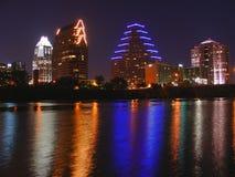Reflexión del horizonte de Austin fotos de archivo