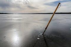 Reflexión del invierno Imágenes de archivo libres de regalías