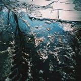 Reflexión del invierno Fotografía de archivo libre de regalías