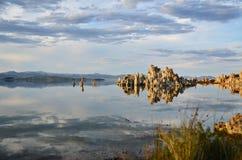 Reflexión del lago fotografía de archivo