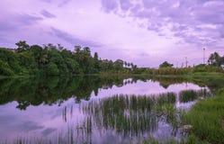 Reflexión del lago Imágenes de archivo libres de regalías