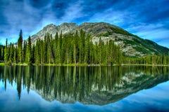 Reflexión del lago mud Foto de archivo