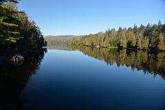 Reflexión del lago Newcomb Fotografía de archivo libre de regalías