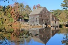 Reflexión del molino de Yates Fotos de archivo
