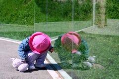 Reflexión del niño Imagen de archivo