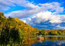 Reflexión del otoño Imágenes de archivo libres de regalías