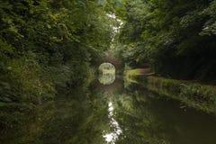 Reflexión del puente Fotos de archivo libres de regalías