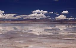 Reflexión en Altiplano Bolivia Fotografía de archivo libre de regalías