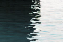 Reflexión en el agua Fotos de archivo libres de regalías