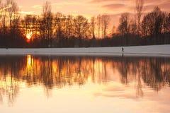 Reflexión en el lago Imágenes de archivo libres de regalías