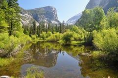 Reflexión en el lago Imagen de archivo libre de regalías