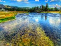 Reflexión en el río Fotos de archivo