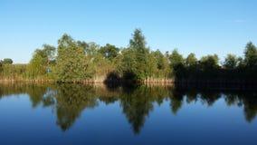 Reflexión en la cabina Imagen de archivo libre de regalías