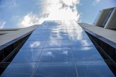 Reflexión en la fachada Foto de archivo