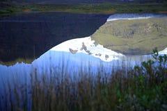 Reflexión glacial Fotos de archivo libres de regalías