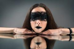 Reflexión negra Imágenes de archivo libres de regalías