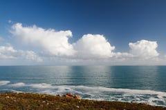 Reflexión nublada Imagen de archivo libre de regalías