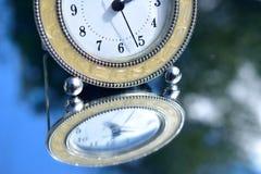 Reflexión a tiempo Fotografía de archivo