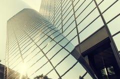 Reflexión urbana del edificio Fotografía de archivo