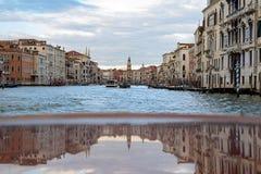 Reflexión veneciana Foto de archivo