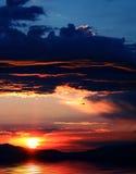 Reflexión 2 del cielo Fotografía de archivo libre de regalías