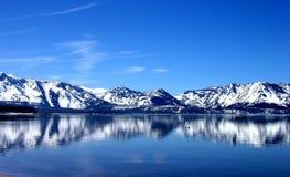 Reflexión azul Fotos de archivo
