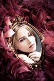 Reflexión de la belleza Fotografía de archivo