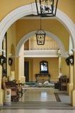 Reflexión del vestíbulo en un centro turístico en Cabo San Lucas, México Fotografía de archivo