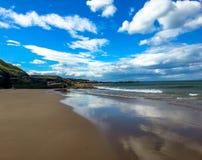 Reflexion auf dem Strand Lizenzfreies Stockbild