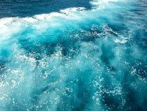 Reflexion auf Meerwasser in Hrvatia Kroatien stockfoto