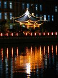 Reflexion auf Nantong lizenzfreies stockfoto